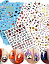 1 Autocollant d\'art de clou Motif 3D Produits DIY Autocollant Maquillage cosmetique Nail Art Design