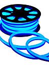 80W Bandes Lumineuses LED Flexibles 7850-7950 lm AC220 V 5 m 400 diodes electroluminescentes Rouge Vert Bleu