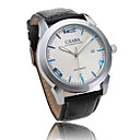 Leather Band Automatic Mechanical Wrist Watch For Men Cool Watch Unique Watch