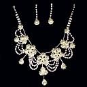 Nakit Set Žene Godišnjica / Vjenčanje / Angažman / Rođendan / Dar / Party Nakit Kompleti Legura Imitacija Pearl / Umjetno drago kamenje
