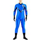 Zentai kombinézy Ninja Zentai Cosplay kostýmy Modrá Jednobarevné Leotard/Kostýmový overal / Zentai / Kočičí oblek Lycra UnisexHalloween /