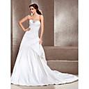 Lanting Bride® A-kroj / Princeza jabuka / Obrnuti trokut / Četvrtasti / Sitna / Pješčani sat / Kruška / Ženstveni Vjenčanica - Klasično i