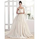 Lanting Bride® A-Linie / PrincessNadměrné velikosti / Obdélník / Jablko / Přesýpací hodiny / Obrácený trojúhelník / Mladistvá / Hruška /