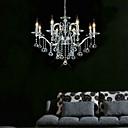 elegantna kristalni luster s 8 svjetlima