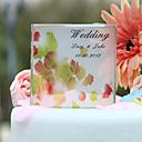 Figurky na svatební dort Přizpůsobeno Klasický pár Křišťál Svatba / Párty pro nevěstu Žlutá Zahradní motiv Dárková krabička