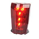 Stražnje svjetlo za bicikl / sigurnosna svjetla LED Biciklizam Jednostavno za nošenje / Upozorenje AAA Lumena Baterija Biciklizam-Rasvjeta