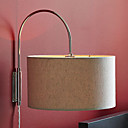 60w hedendaagse stoffen kap wandlamp cilindriciteit ontwerp