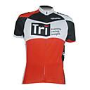 KOOPLUS® Biciklistička majica Muškarci Kratki rukav Bicikl Prozračnost / Quick dry / Prednji Zipper Biciklistička majica / Majice100%