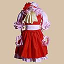 Inspirirana Touhou projekt Patchouli Knowledge Video igra Cosplay Kostimi Cosplay Suits Kolaž Crvena Top