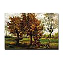 """met de hand geschilderd beroemde olieverfschilderij met gestrekte frame 24 """"x 36"""" van Van Gogh"""