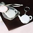 Plastic Privjesak favorizira Komad / set Keychains Vrt Tema White