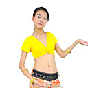 dancewear Mercerized pamuk trbuh top za dame više boja