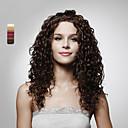 korkiton pitkä korkealuokkaiset laatua synteettinen tukka peruukki useita värejä