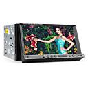 2 DIN TFT 7-inčni zaslon u-crtica auto DVD player s iPod-ulaz, Bluetooth, navigacijski spreman GPS, RDS, TV