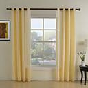 Dva panely Window Léčba Neoklasika Obývací pokoj Polyester Materiál Sheer Záclony Shades Home dekorace For Okno