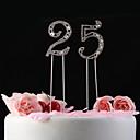 Figure za torte Non-personalizirane Kristal Godišnjica / Rođendan Umjetno drago kamenje Klasični Tema Poli Bag