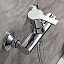 Sprinkle®シャワー水栓  ,  コンテンポラリー  with  クロム シングルレバー 二つ  ,  特徴  for センターセットタイプ / 壁式