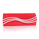 Elegant Silk with Beads Handbags/Clutches with Crystal(More Colors)
