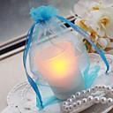 pár Dárky Piece / Set LED světlo kouzlo / Klasické Svatba / Kolaudační párty Organza Nepřizpůsobeno LED světloRůžová / Lila / Zelená /