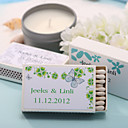 Wedding Décor Personalized Matchboxes - Beautiful Butterfly (Set of 12)