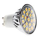 4W GU10 LED reflektori MR16 20 SMD 5050 400 lm Toplo bijelo AC 220-240 V