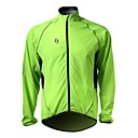 SPAKCT-Cycling Wind Jacket Green 100% 20D Polyamide Long-Sleeve