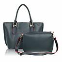 ženske kontrasta torba (45 * 16 * 29cm)