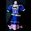 Inspirirana Vocaloid Meiko Video igra Cosplay nošnje Cosplay Suits Kolaž Plava Top