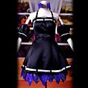 Inspirovaný Vocaloid Hagane Miku Video Hra Cosplay kostýmy Cosplay šaty Patchwork Czarny Vrchní deska