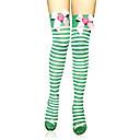 čarape Sweet Lolita Lolita Lolita Zelen Lolita Pribor Stockings Prugasti uzorak Za Žene Najlon