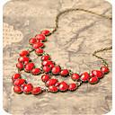 ženske suze gem vintage startni ogrlicu
