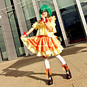 Inspirirana Macross Frontier Ranka Lee Anime Cosplay nošnje Cosplay Suits Kolaž Žuta Top