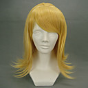 Cosplay Wigs Vocaloid Kagamine Rin Zlatna Medium Anime / Video Igre Cosplay Wigs 45 CM Otporna na toplinu vlakna Female