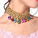 Performance Dancewear Bells Belly Dance Necklace For Ladies More Colors