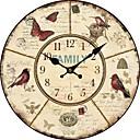 země květinové a zvířecí nástěnné hodiny
