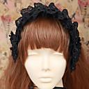 ジュエリー ゴスロリータ 帽子 ロリータ ブラック ロリータアクセサリー ヘッドピース ゼブラプリント のために 男性 / 女性 コットン