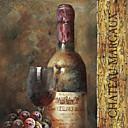 Reprodukce na plátně na umění zátiší sběr vína v NBL o studiu připraven k zavěšení