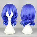 Cosplay Wigs Poklade Cosplay Plava Medium Anime Cosplay Wigs 45 CM Male / Female
