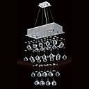 200W moderni strop svjetla sa 4 svjetla i kristalno privjesci kuglica (GU10 baze)