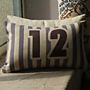 Číslice vzor vytisknout dekorativní polštář