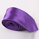 muške mode u boji bombona uska kravata od poliestera