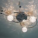 30W Umělecké Moderní zapuštěná montáž se 3 světly a 3 odstíny jarní Globe ve hře na housle Feature