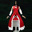 Inspirirana Puella Magi Madoka Magica Kyoko Sakura Anime Cosplay nošnje Cosplay Suits / Dresses Kolaž Crvena Bez rukavaHaljina / Traka za