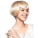 nadolijevanja kratko visoke kvalitete sintetička svijetlo plava bob stil kose perika