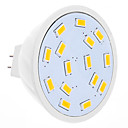 DAIWL MR16 4W 15xSMD5630 280-320LM 2500-3500K Warm White Light LED Spot Bulb (12V)