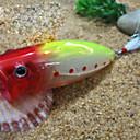 Trulinoya-Hard Bait Big Popper 80mm/20g Fishing Lure with VMC Hook (Random Color)