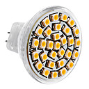 MR11 1.5W 30x3528SMD 150-180LM 3000-3500K Warm White Light LED Spot žarulja (DC 12V)