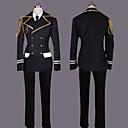 Inspirirana Cosplay Shinomiya Natsuki Video igra Cosplay Kostimi Cosplay Suits Kolaž Crna Dugi rukav Kaput / Shirt / Hlače / Kravata
