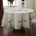 """průměr 71 """"kolo tradiční khaki květinové ubrusy (náhodné barvy)"""