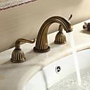 Sprinkle® 浴室用水栓  ,  アンティーク  with  アンティーク真鍮 2ハンドル 三つ  ,  特徴  for 組み合わせ式
